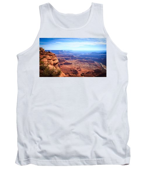 Tank Top featuring the photograph Canyonlands - A Landscape To Get Lost In by Peta Thames