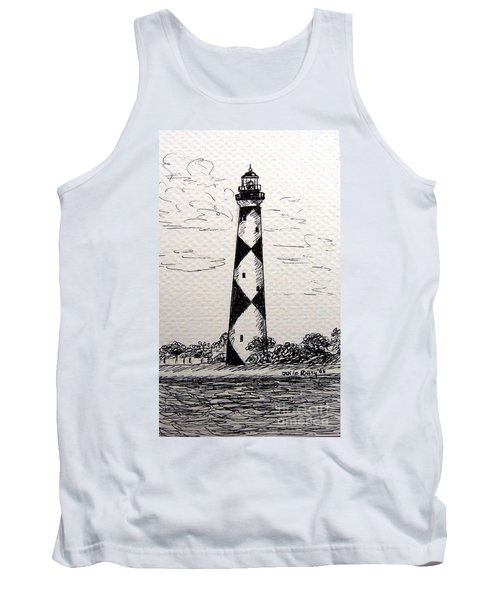Cape Lookout Lighthouse Nc Tank Top