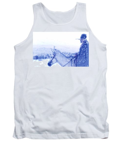 Capt. Call In A Snow Storm Tank Top