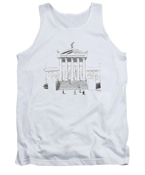 Captionless  'decisions Tank Top