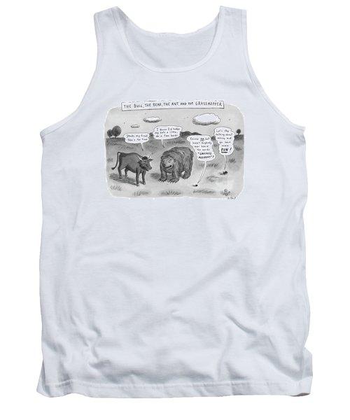 Captionless The Bull Tank Top