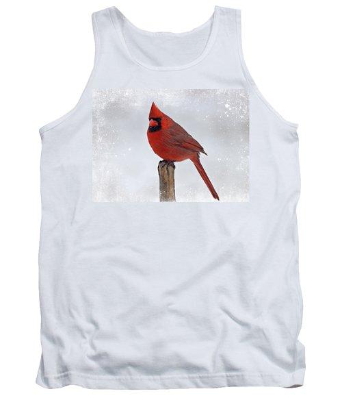 Cardinal Perching Tank Top