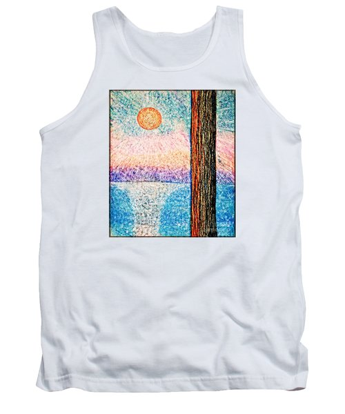 Carmel Highlands Sunset Tank Top