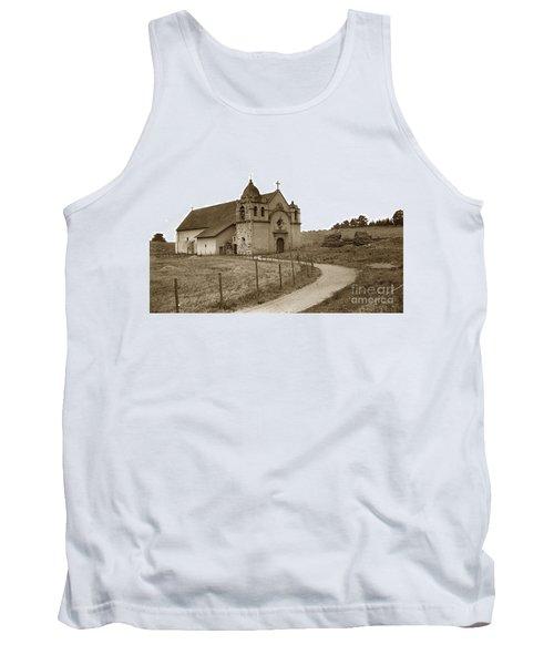 Carmel Mission Monterey Co. California Circa 1890 Tank Top