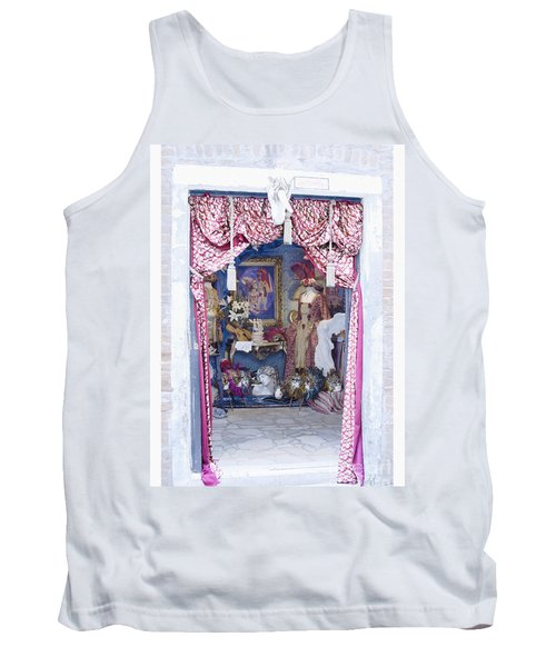 Carnevale Shop In Venice Italy Tank Top