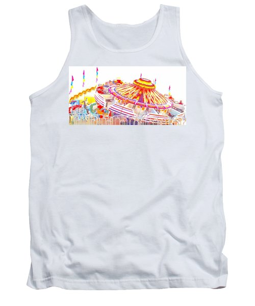 Tank Top featuring the photograph Carnival Sombrero by Marianne Dow