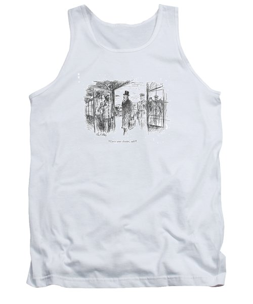 Carry Your Dossier Tank Top