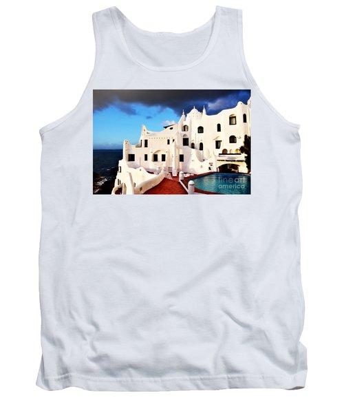 Casa Pueblo Al Mar Tank Top by Valerie Rosen