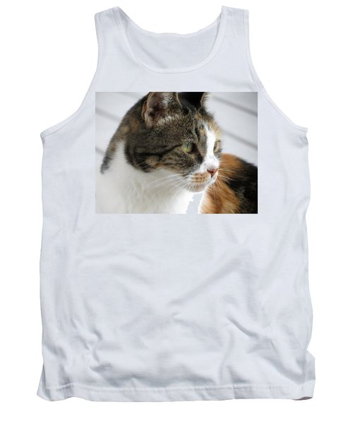Cat Tank Top by Laurel Powell