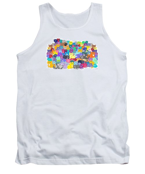 Catastrophy Tank Top by Nick Gustafson