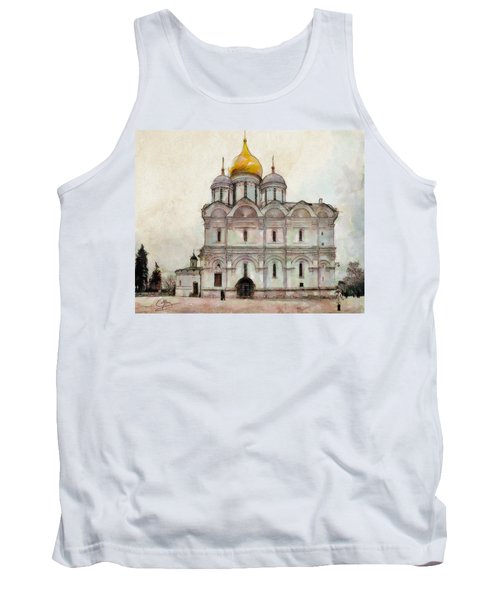 Cathedral Of The Archangel Tank Top
