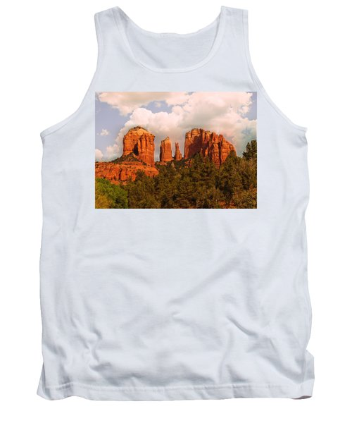Cathedral Rock Sunset Tank Top