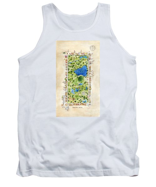 Central Park And All That Surrounds It Tank Top by AFineLyne