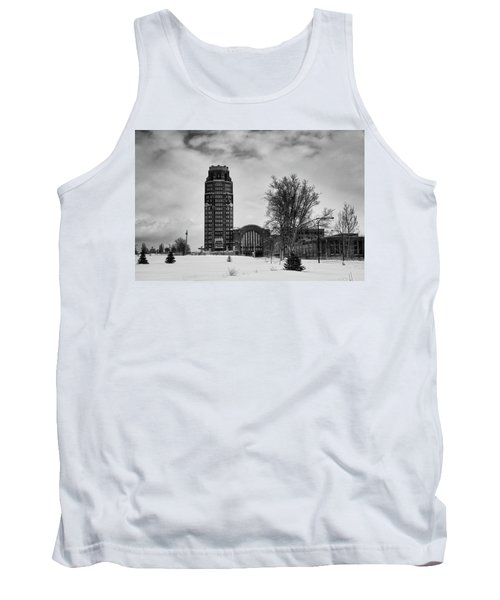Central Terminal 4431 Tank Top by Guy Whiteley