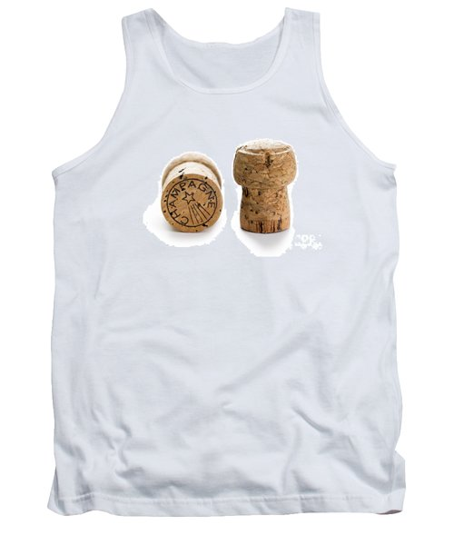 Tank Top featuring the photograph Champagne Corks by Lee Avison