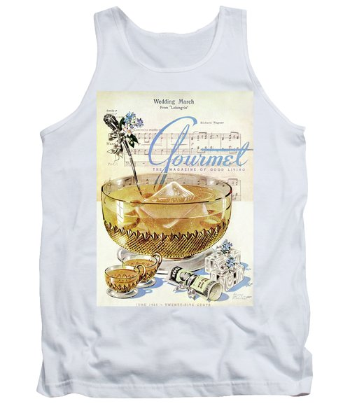 Champagne Punch And The Wedding March Tank Top