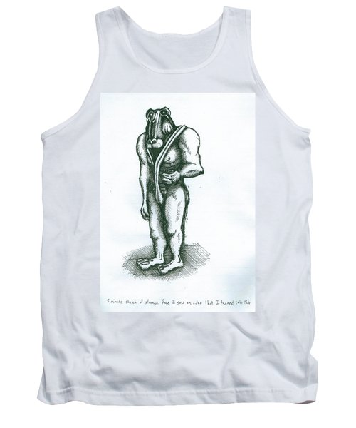 Character Sketch Tank Top