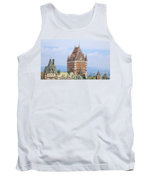 Chateau Frontenac Quebec City Canada Tank Top