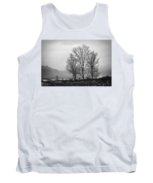 Cheese House Road Trees Tank Top