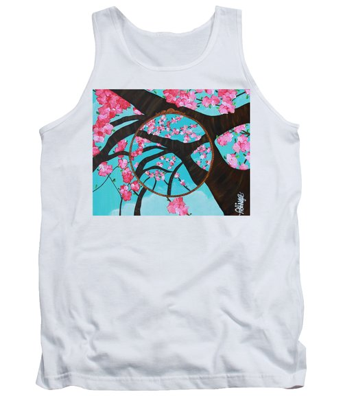 Cherry Blossom Tank Top