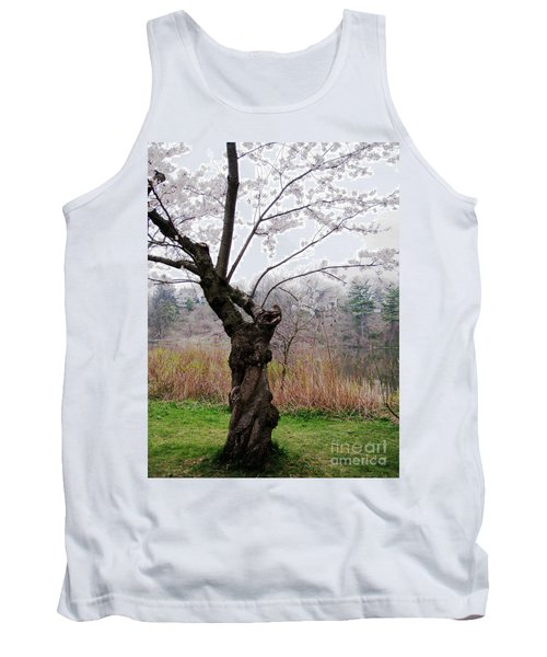 Tank Top featuring the photograph Cherry Blossom Time by Nina Silver