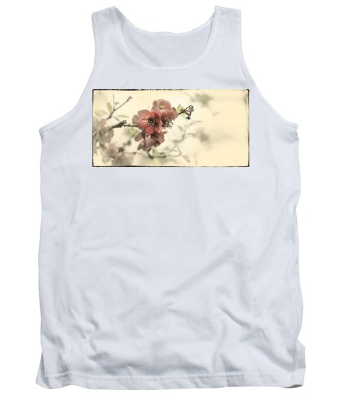Tank Top featuring the photograph Cherry Blossoms by Peter v Quenter