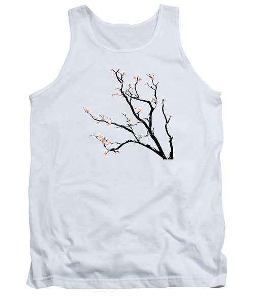 Cherry Blossoms Tree Tank Top by Gina Dsgn