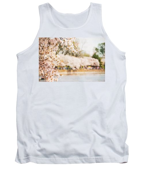 Tank Top featuring the photograph Cherry Blossoms In Washington Dc by Vizual Studio