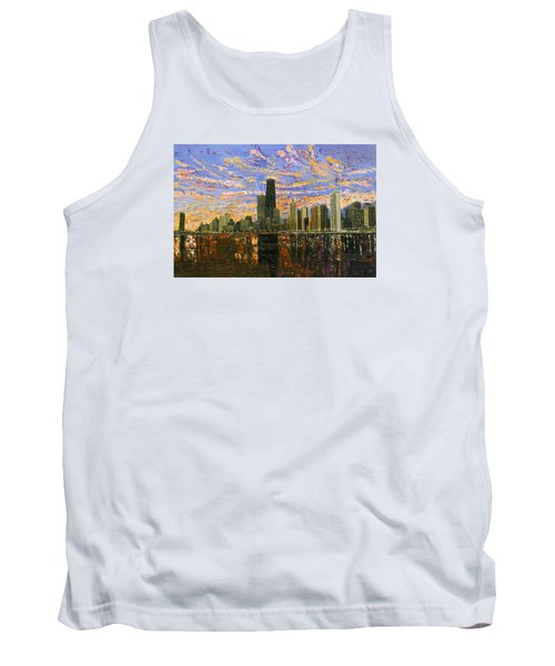 Chicago Tank Top by Mike Rabe