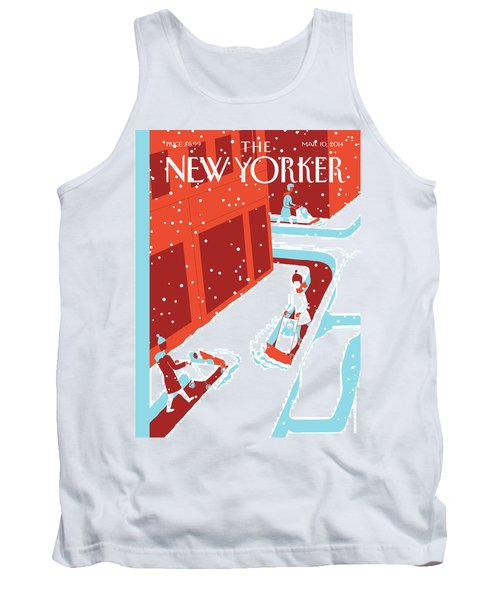 Snowplows Tank Top
