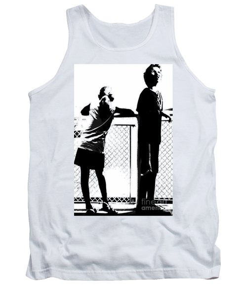 Tank Top featuring the photograph Children On Governors Island Ferry Ride by Lilliana Mendez