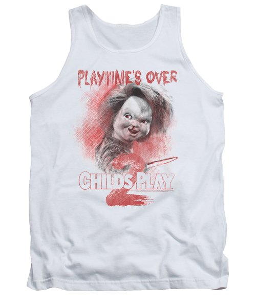 Childs Play 2 - Playtimes Over Tank Top