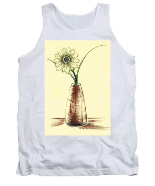 Chrysanthemum Flower Tank Top
