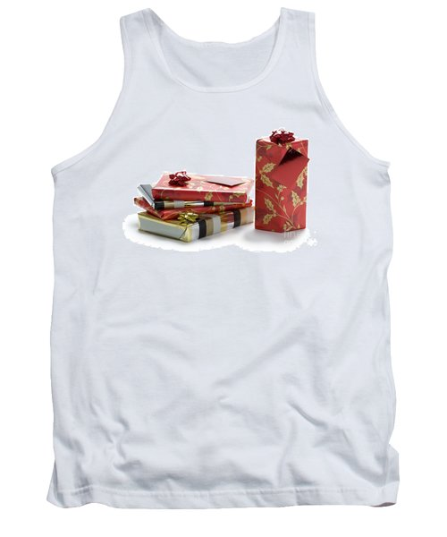 Tank Top featuring the photograph Christmas Gifts by Lee Avison