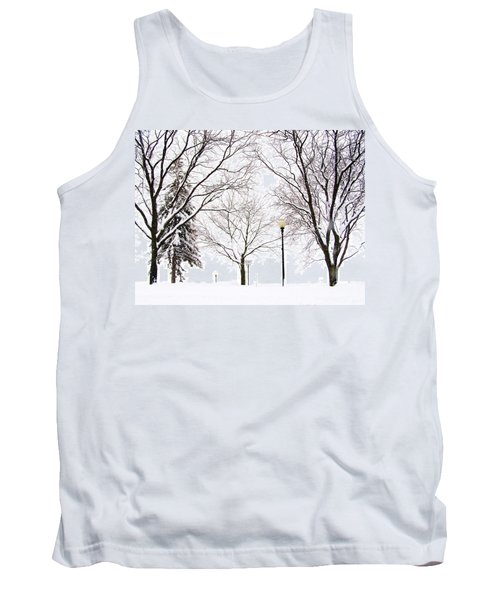 Christmas In Skaneateles Tank Top by Margie Amberge