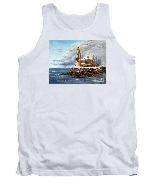 Christmas Island Tank Top by Lee Piper