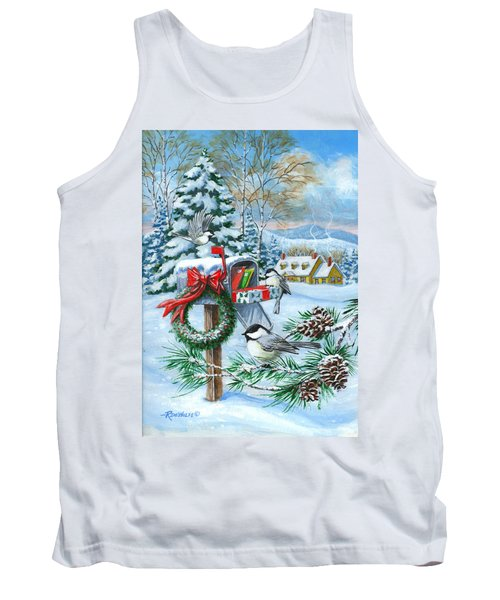 Christmas Mail Tank Top