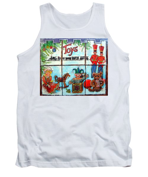 Christmas Window Tank Top