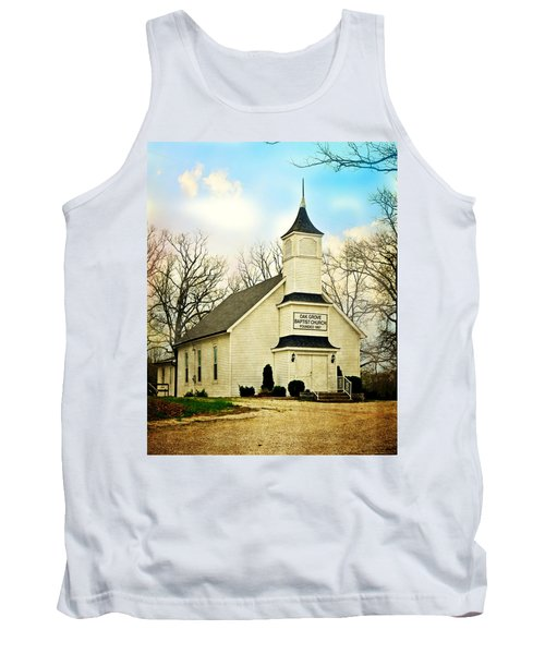 Tank Top featuring the photograph Church 12 by Marty Koch