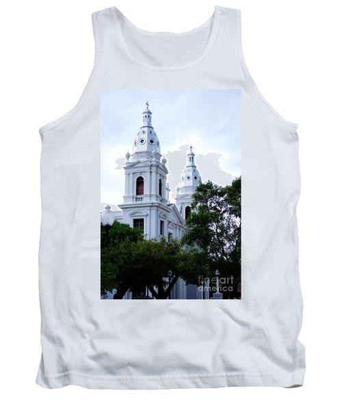 Church In Puerto Rico Tank Top by DejaVu Designs