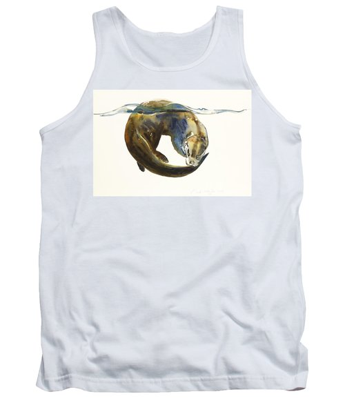 Circle Of Life Tank Top by Mark Adlington