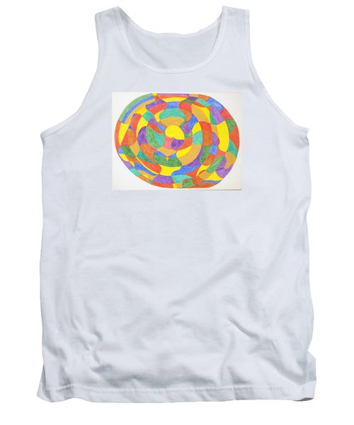 Tank Top featuring the painting Life Cycles by Stormm Bradshaw