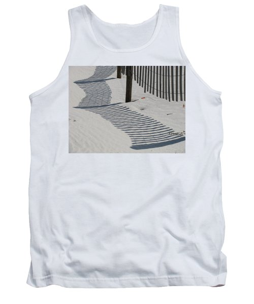 Circus Beach Fence Tank Top