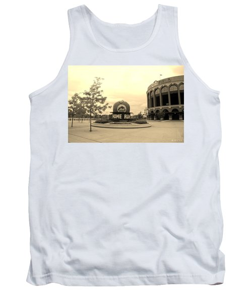 Citi Field In Sepia Tank Top