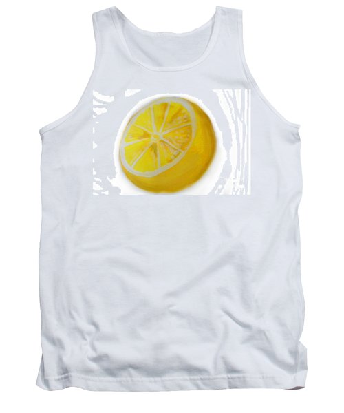 Tank Top featuring the painting Citrus by Marisela Mungia