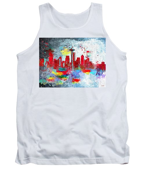 City Of Seattle Grunge Tank Top