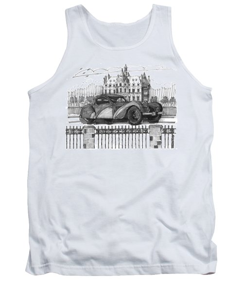 Classic Auto With Chateau Tank Top