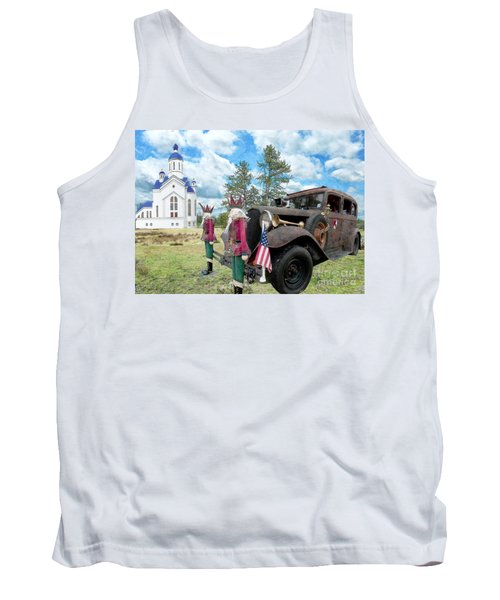 Classic Ride Tank Top by Liane Wright