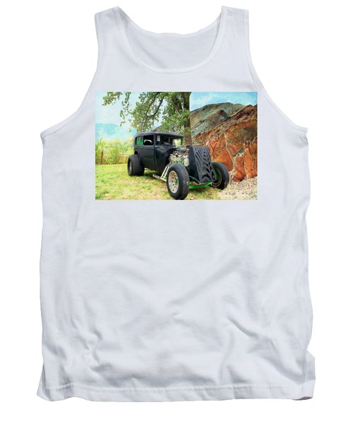 Tank Top featuring the photograph Classic Rod by Liane Wright