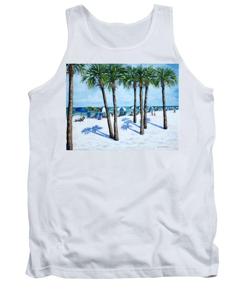Clearwater Beach Morning Tank Top
